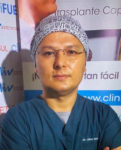 Doctor Cihan Bandirmali LIV Hospital cliniFUE