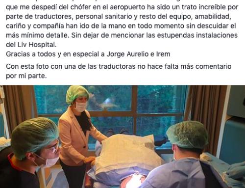 ¿Qué opinan los pacientes de nosotros en Facebook? Respuestas reales.