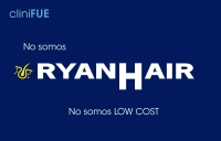 cliniFUE no es low cost. No somos RyanHair