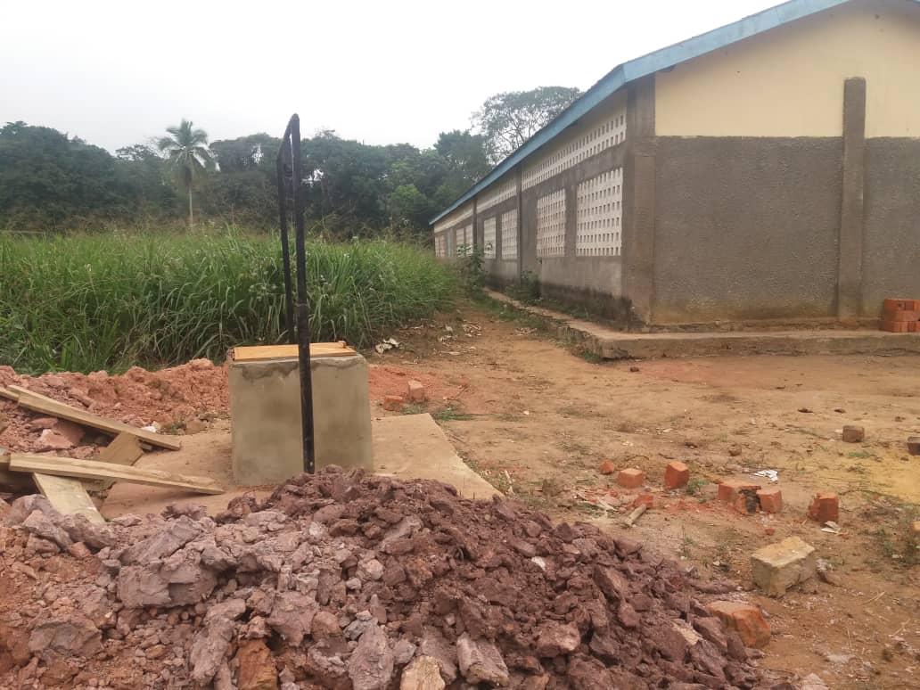 3º Pozo de agua en Kingoue con cliniFUE