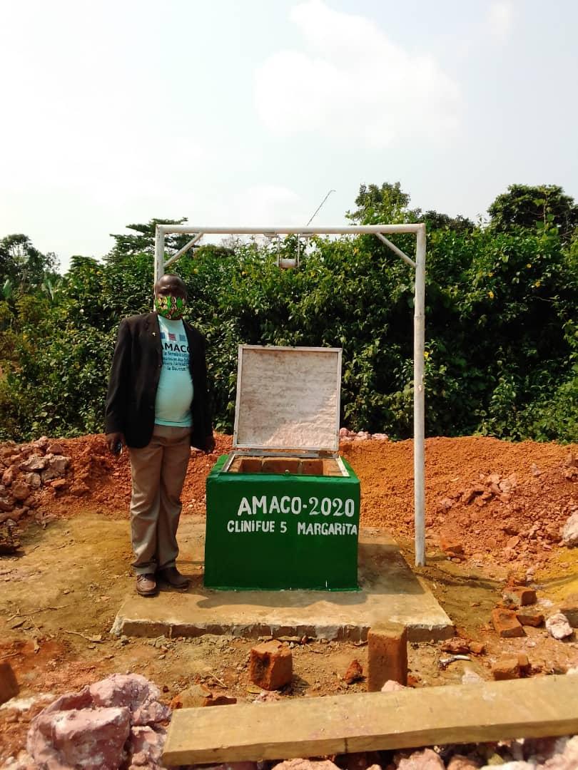 4º Pozo de agua en Kingoue con cliniFUE